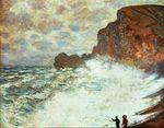 Клод Моне Бурный пейзаж 1883г