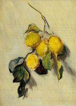 Клод Моне Ветка лимонов 1883г