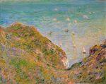 Клод Моне Вид со скалы в Пурвиле, ясная погода 1882г