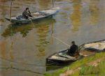 Клод Моне Два рыболова 1882г 38x52cm