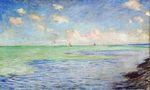 Клод Моне Море в Пурвиле 1882г