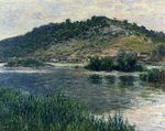 Клод Моне Пейзаж в Порт-Вилле 1883г