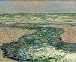 Клод Моне Побережье в Пурвиле, отлив 1882г.