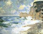 Клод Моне Утихающие волны 1883г