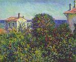 Клод Моне Бордигера, дом садовника 1884г