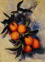 Клод Моне Ветка апельсинов 1884г 53x38cm