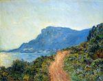 Клод Моне Горная дорога в Монако 1884г 75x94cm Stedelijk Museum, Amsterdam