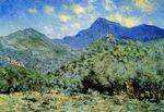Клод Моне Долина Бонуа близ Бордигера 1884г 63x90cm Dallas Museum of Art, Dallas
