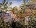 Клод Моне Долина Сассо, Бордигера 1884г