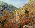 Клод Моне Долина Сассо, солнечный свет 1884г 65x81cm