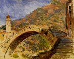 Клод Моне Дольчеаккуа, мост 1884г 73x92cm