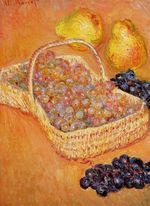Клод Моне Корзина винограда, айвы и груши 1885г