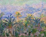 Клод Моне Пальмы в Бордигере 1884г 64x81cm Metropolitan Museum of Art, New York