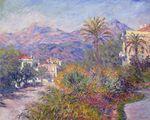 Клод Моне Римская дорога в Бордигере 1884г