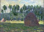 Клод Моне Стог сена в Живерни 1885г