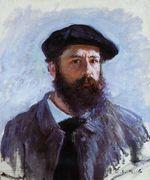 Клод Моне Автопортрет с беретом 1886г 46х56cm
