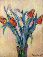 Клод Моне Ваза тюльпанов 1885г