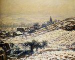Клод Моне Зима в Живерни 1885г