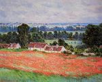 Клод Моне Маковое поле в Живерни 1885г