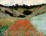 Клод Моне Маковое поле в долине близ Живерни 1885г