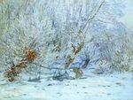 Клод Моне Мороз 1885г