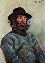 Клод Моне Портрет Поли, рыбака из Кервилюэна 1886г 74x53cm Musée Marmottan, Paris