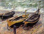 Клод Моне Рыбацкие лодки 1885г 73x92cm Seattle Museum of Art, Seattle