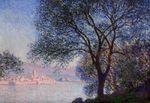 Клод Моне Антиб, вид из садов Салис 1888г 65x81cm