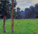 Клод Моне Два дерева на лугу 1886г