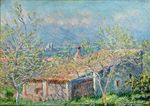 Клод Моне Домик садовника в Антибе 1888г