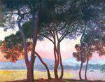Клод Моне Жуан-ле-Пен 1888г 73x92cm