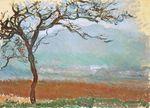 Клод Моне Пейзаж в Живерни 1887г