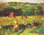 Клод Моне Прогулка близ Лиметса 1887г