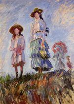 Клод Моне Прогулка (этюд) 1886г 102x75cm