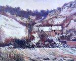Клод Моне Снежный эффект в Фалезе 1886г 66x81cm