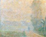 Клод Моне Тропинка в тумане 1887г