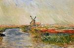 Клод Моне Тюльпанное поле в Голландии 1886г Musée Marmottan, Paris, France