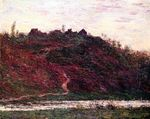 Клод Моне Деревня Ла-Рош-Блон, вечер 1889г