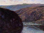 Клод Моне Долина Креза, дневное солнце 1889г