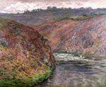 Клод Моне Долина Креза, пасмурная погода 1889г 81х65