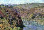 Клод Моне Долина Креза, солнечный эффект 1889г