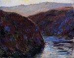Клод Моне Долина Крез, вечерний эффект 1889г
