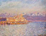 Клод Моне Залив Антиба 1888г