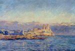 Клод Моне Замок в Антибе 1888г