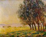 Клод Моне Ивы на закате 1889г