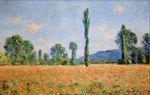Клод Моне Маковое поле в Живерни 1890г