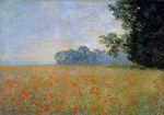 Клод Моне Овсяное и маковое поле 1890г