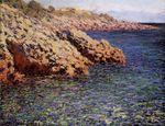 Клод Моне Скалы на средиземноморском побережье 1888г