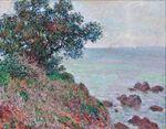 Клод Моне Средиземноморское побережье, серый день 1888г