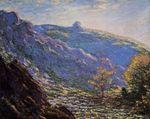 Клод Моне Старое дерево, солнечный свет в Пти-Крезе 1889г